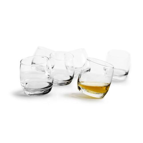 Sagaform|搖擺玻璃杯200ml 6入
