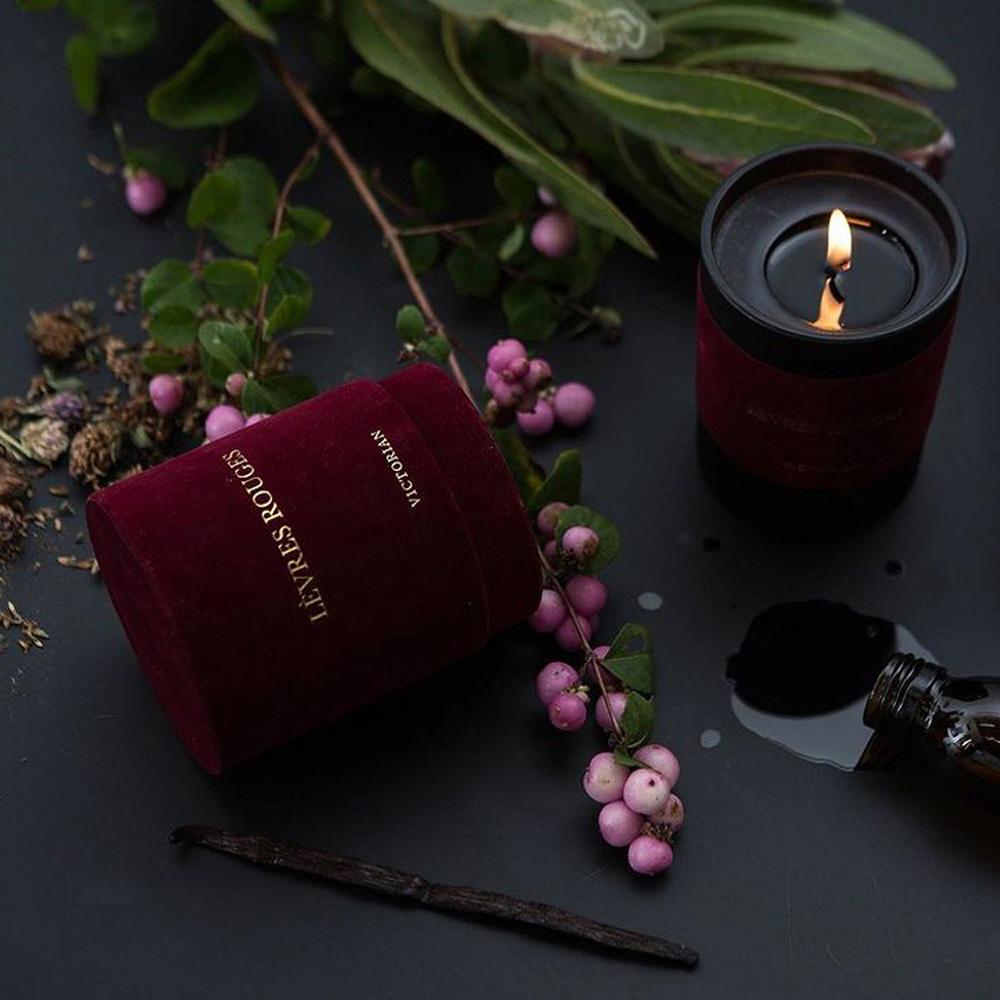 VICTORIAN|天鵝絨 Levres Rouges 香氛蠟燭