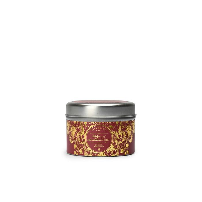 VICTORIAN|Pepper & Sandalwood 錫盒香氛蠟燭