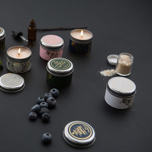 VICTORIAN|Waitery pear & Blossoms 錫盒香氛蠟燭