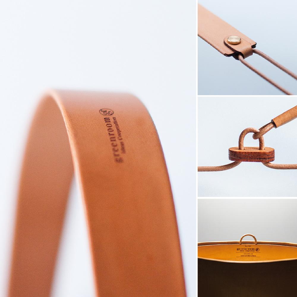 greenroom|WALDEN 防潑水皮革輕量機能包(原色)