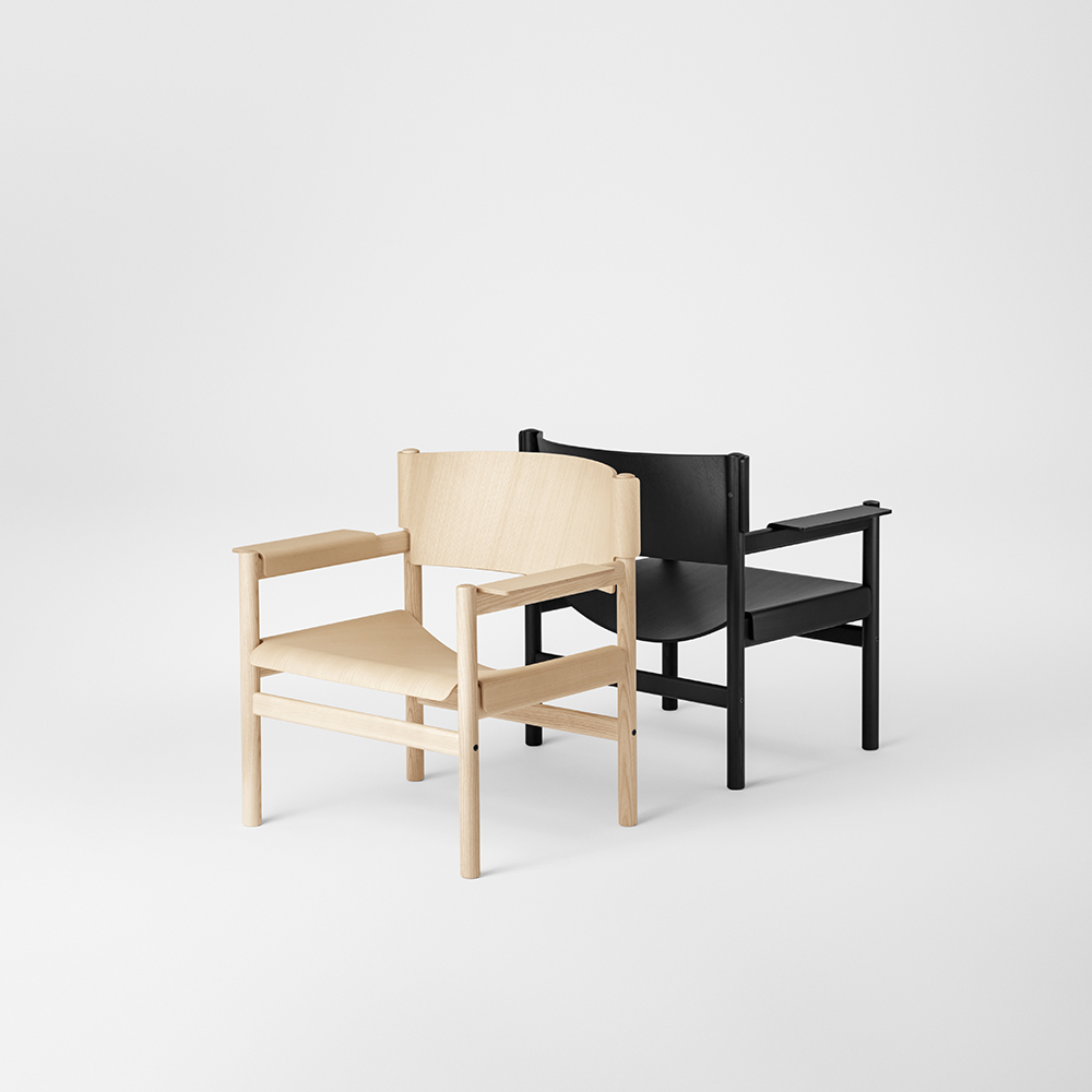 丹麥 TAKT T04 Soft Lounge chair 環保梣木休閒椅