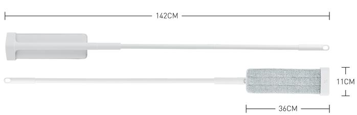 百潔 PERCENT QUICK MOP 免手洗高效平板拖把-替換拖布10入