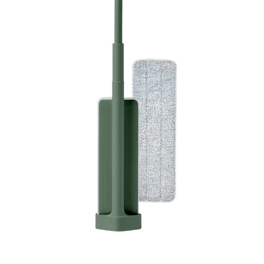 百潔 PERCENT QUICK MOP 平板拖把1入(綠)+替換拖布1入