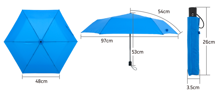 Amvel|VERYKAL 超輕自動摺疊傘