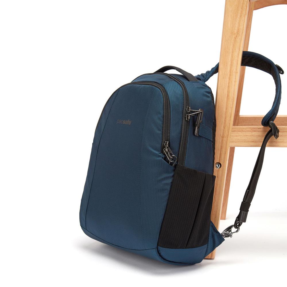 澳洲 Pacsafe|ECONYL® Metrosafe 再生材質 都市防盜後背包 LS350