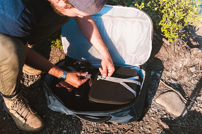 Pacsafe ECONYL® Venturesafe EXP45 再生材質 防盜登機後背包 (45L)