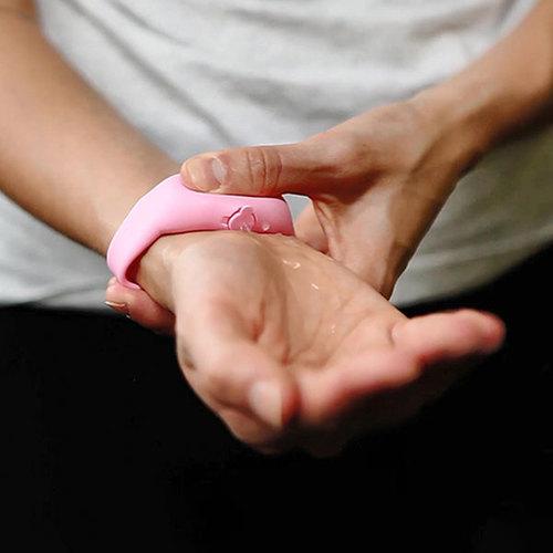 SqueezyBand 隨手環 腕帶式洗手液分裝罐成人款-2入組(多色任選)
