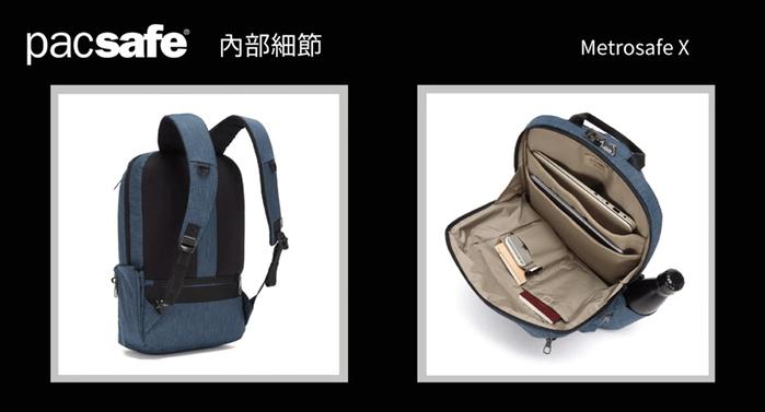 (複製)Pacsafe ECONYL® |Vibe 325 再生材質 防盜斜背包(10L)