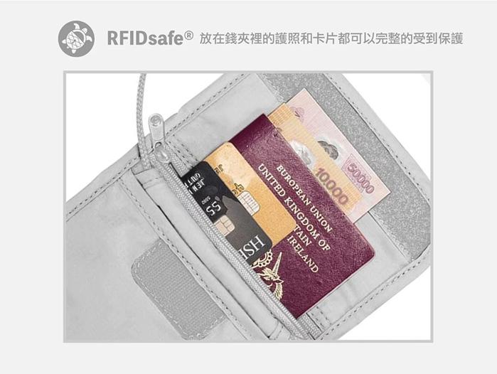 Pacsafe Coversafe X | RFID 防剪掛頸包 X75 2色
