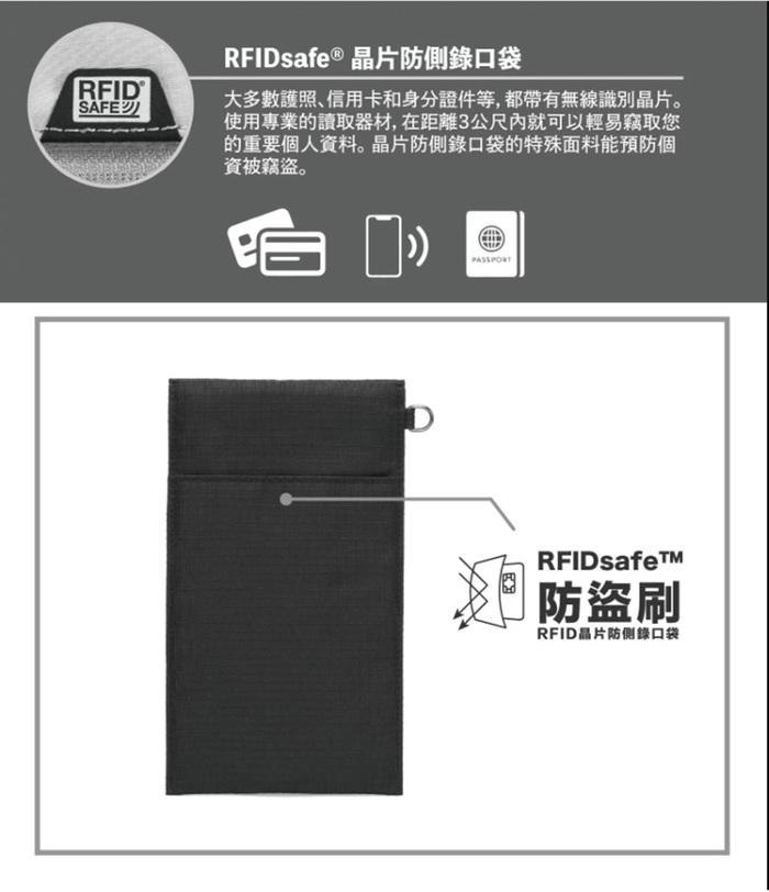(複製)Pacsafe RFIDsafe   晶片防側錄 汽車鑰匙靜音保護袋