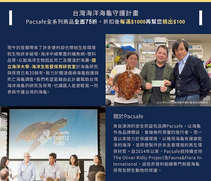 Pacsafe RFIDsafe晶片防側錄旅行收納袋(小)2色