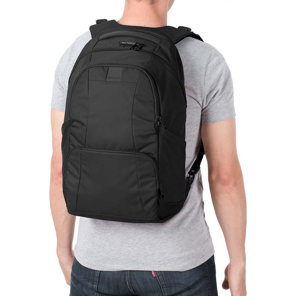 澳洲 Pacsafe Metrosafe 都市防盜後背包 LS450(25L)黑色