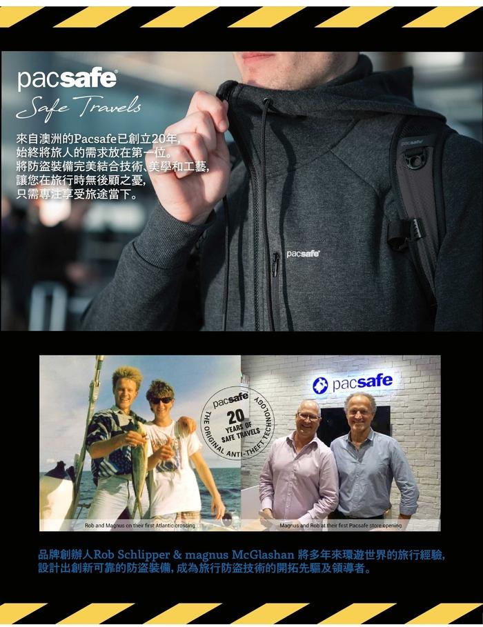 Pacsafe RFIDsafe | 晶片防側錄錢夾 V100