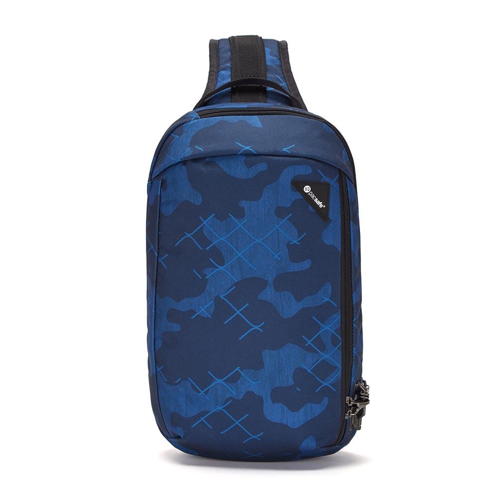 澳洲 Pacsafe|Vibe 325 防盜斜背包(10L)藍色迷彩