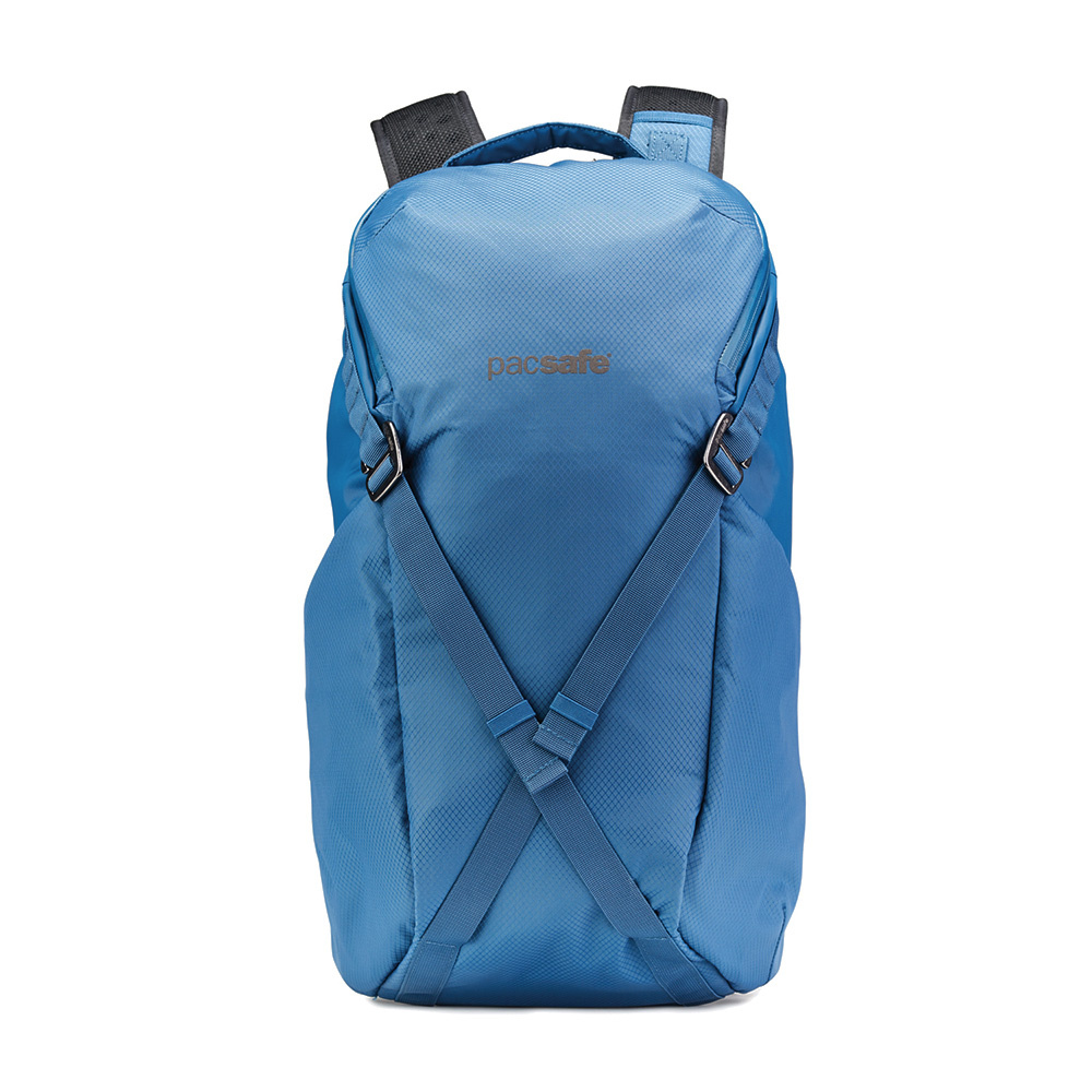 澳洲 Pacsafe|Venturesafe X 防盜探險後背包 X24(24L)藍色