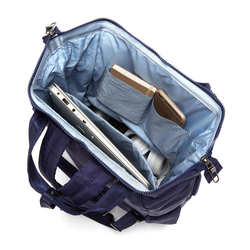 澳洲 Pacsafe|Citysafe CX 防盜手提後背包(17L)深藍