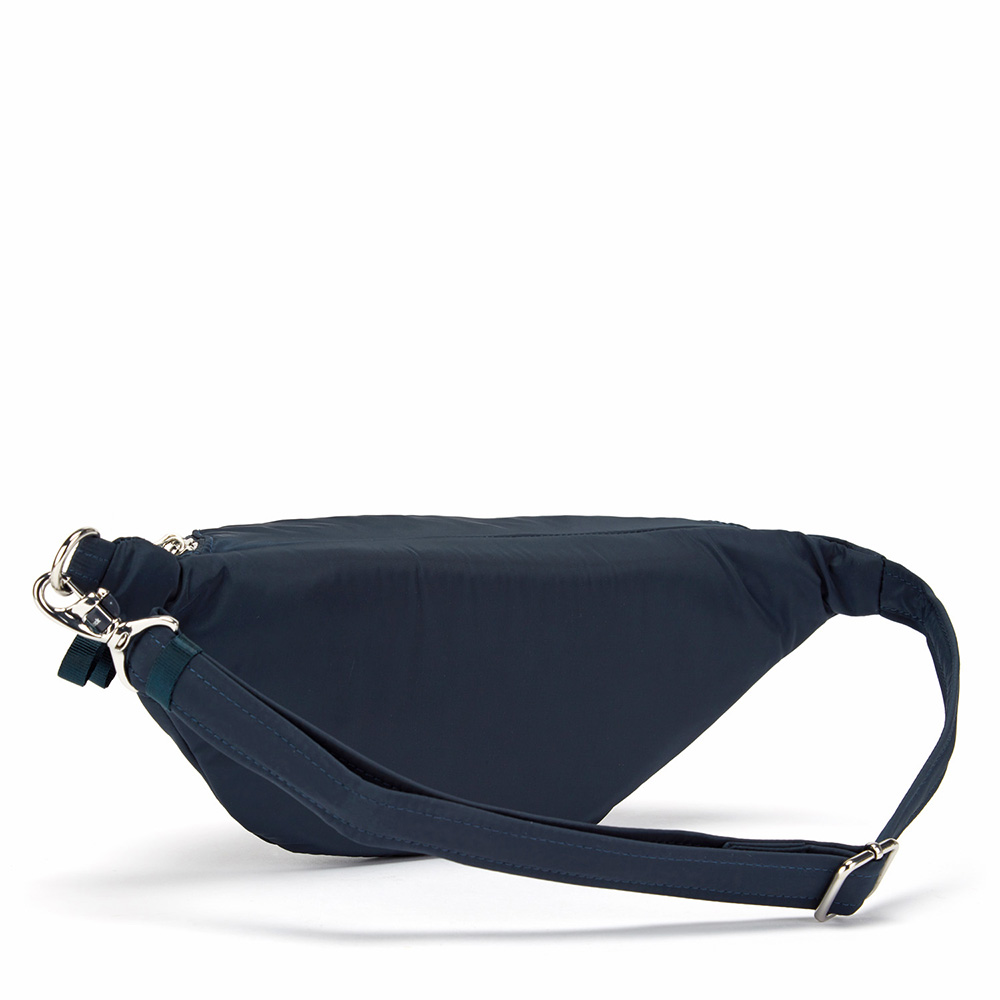澳洲 Pacsafe|Stylesafe 防盜腰包(2L)海軍藍