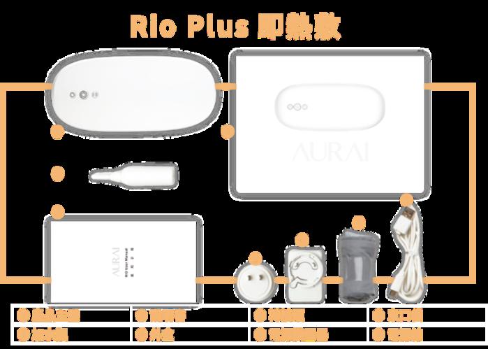 (複製)【集購】Aurai Vision Plus 酷熱敷水波式按摩眼罩