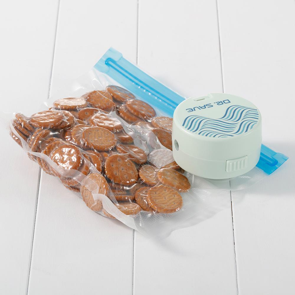 摩肯|Dr.Save充插兩用款全功能真空機-玩水必備(含收納袋6件組)