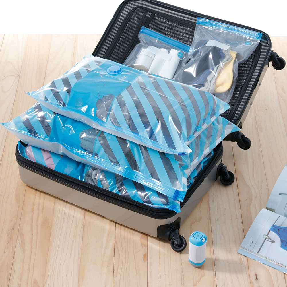 摩肯 DR. SAVE 抽真空機食物保鮮組(含10保鮮袋+2真空收納袋)