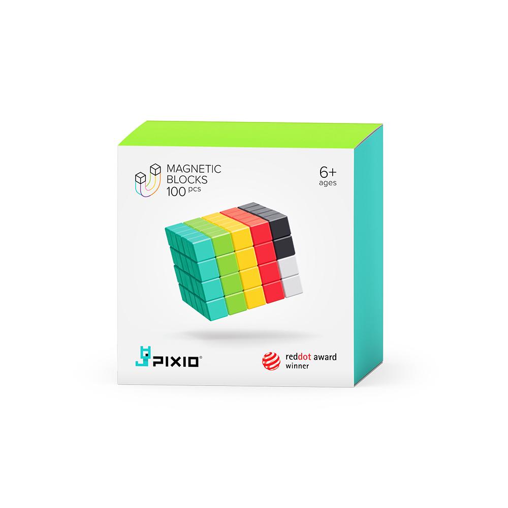 美國Pixio|磁力像素小魔方 設計系列-創意100