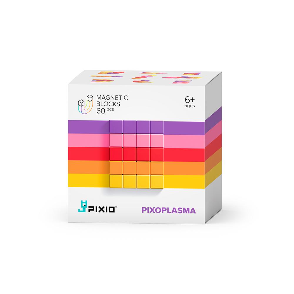 美國Pixio|磁力像素小魔方 抽象系列-盛夏莓果60