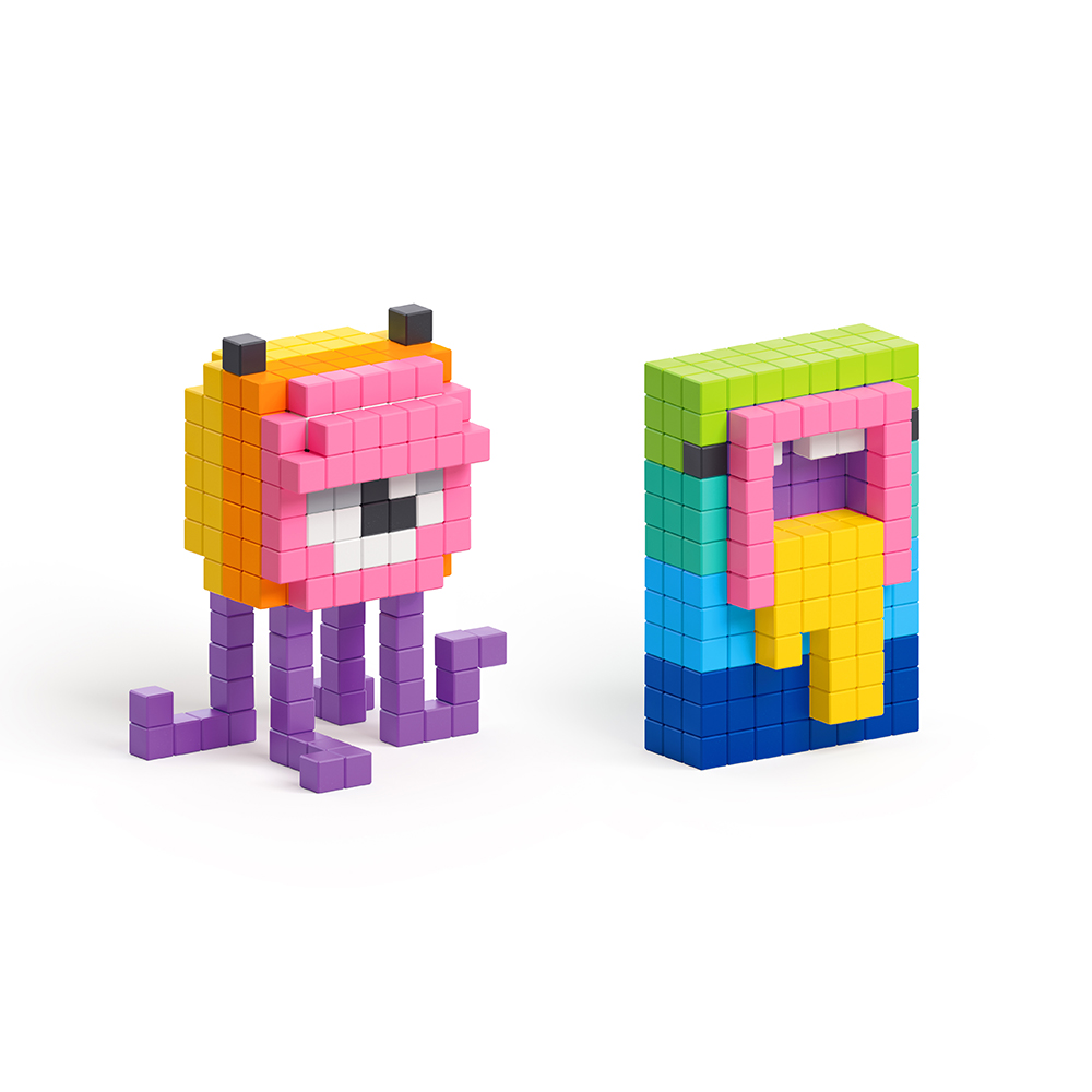 美國Pixio|磁力像素小魔方 設計系列-創意800