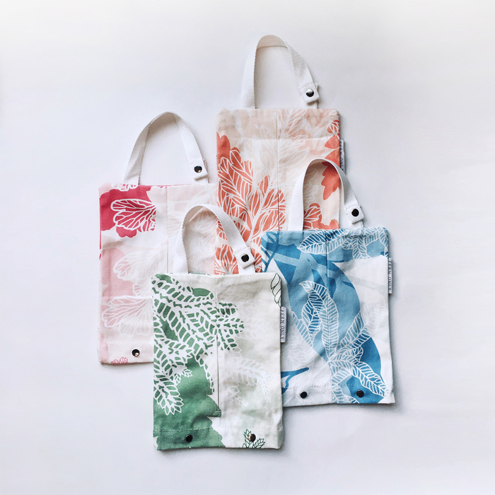 FERN ONLY|蕨印紙巾掛袋-生根卷柏