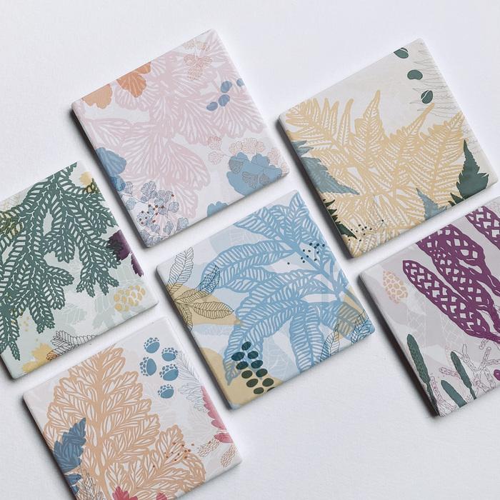 (複製)FERN ONLY|蕨印紙巾掛袋-臺灣原始觀音座蓮