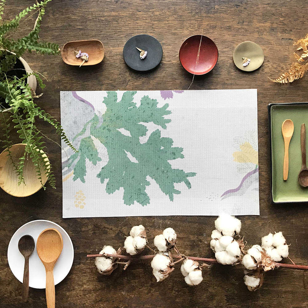 FERN ONLY 蕨類風景餐桌墊-生根卷柏