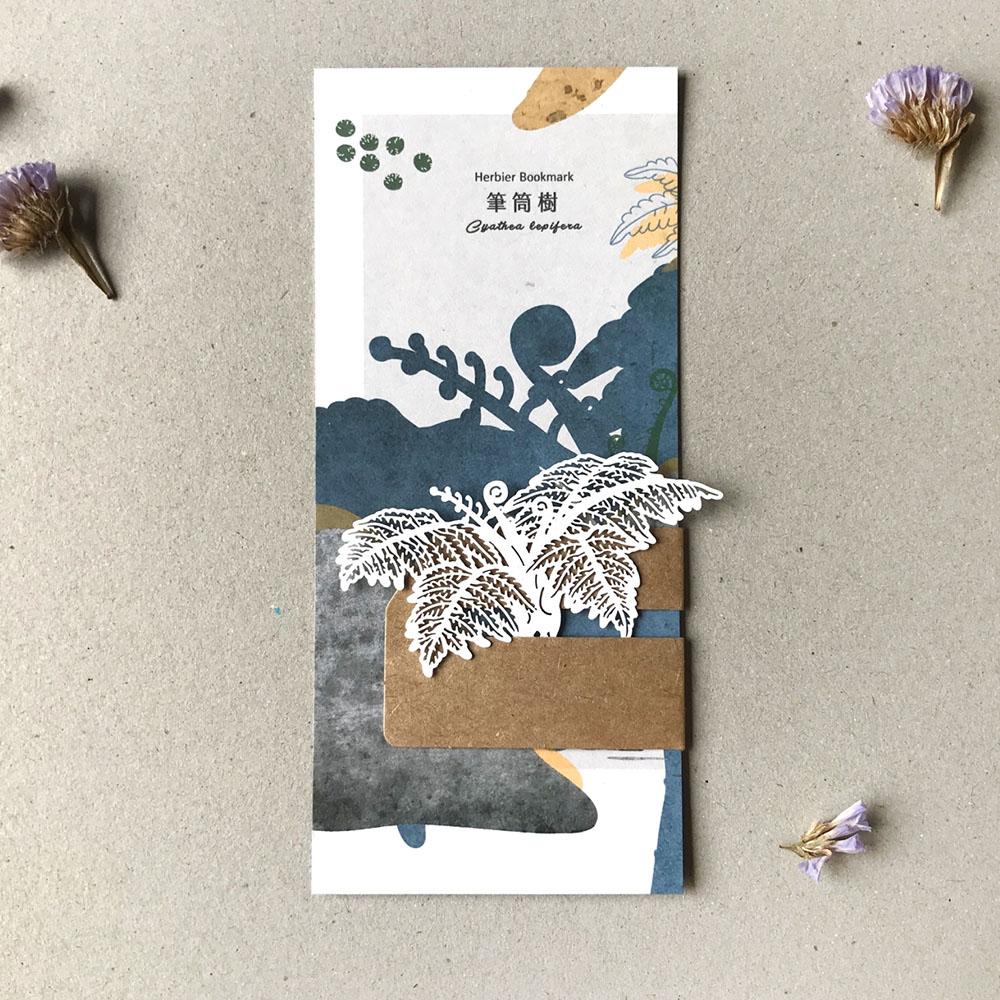 FERN ONLY|蕨類標本紙雕-筆筒樹
