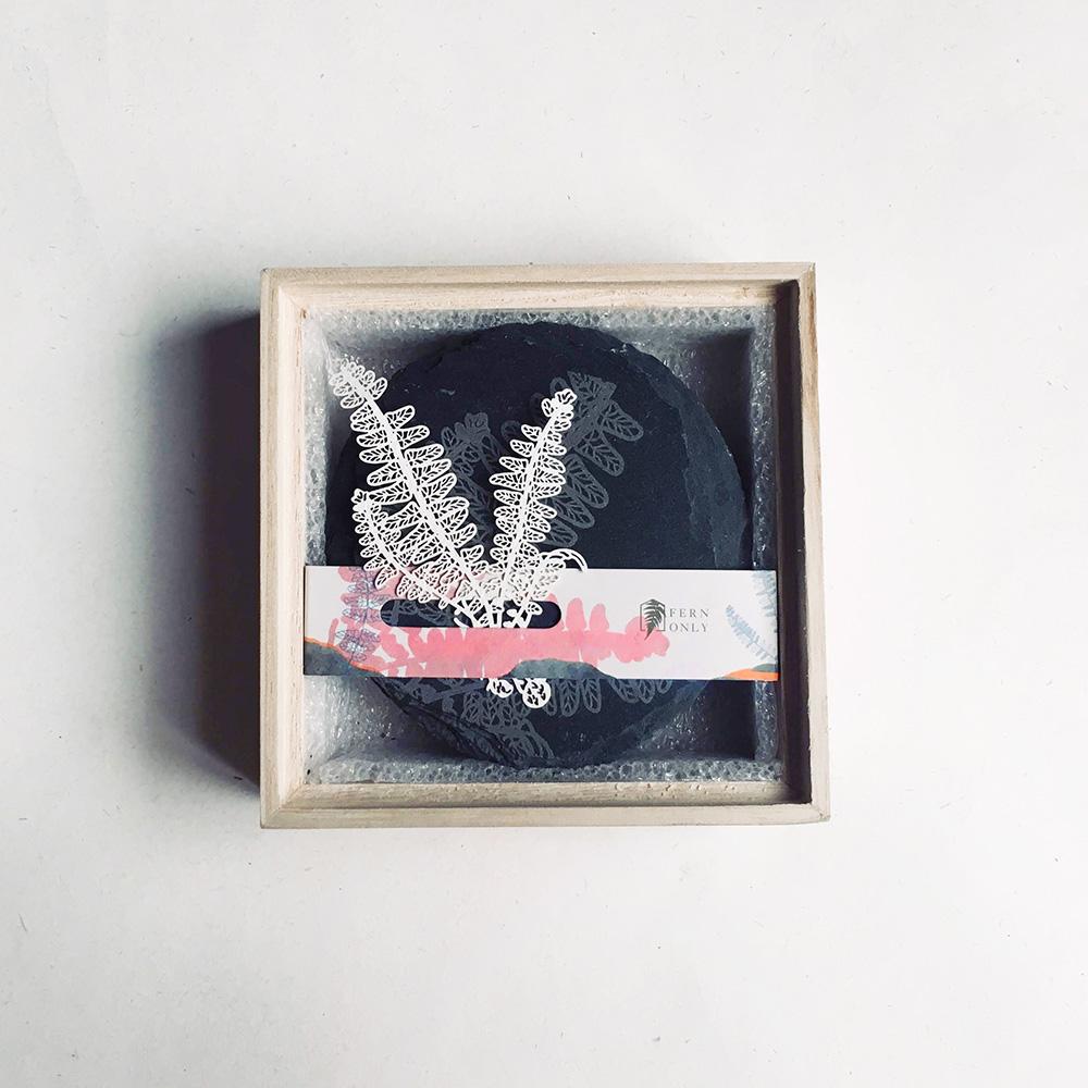 FERN ONLY|蕨類化石石皿-腎蕨
