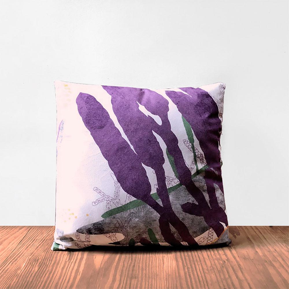 FERN ONLY 蕨類柔軟抱枕套-玉山地刷子(僅枕套)