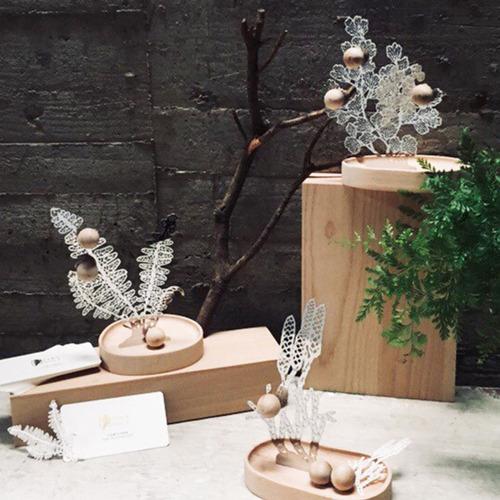 FERN ONLY|蕨對置物掛架-玉山地刷子