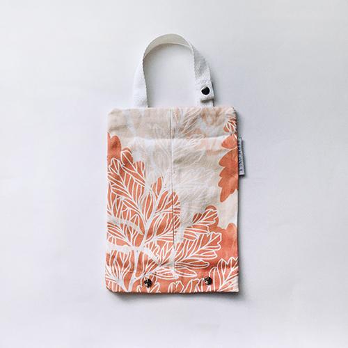 FERN ONLY|蕨印紙巾掛袋-兔腳蕨