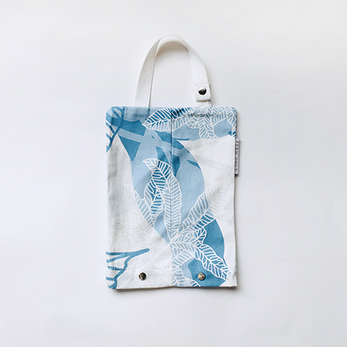 FERN ONLY|蕨印紙巾掛袋-臺灣原始觀音座蓮