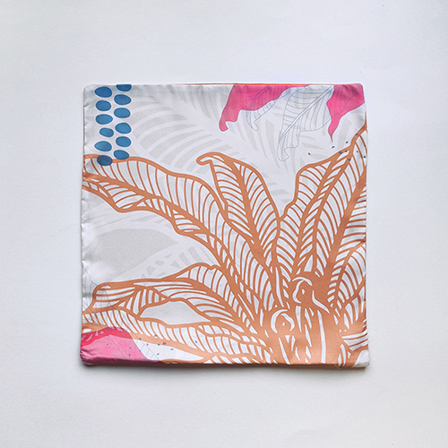 FERN ONLY 蕨類柔軟抱枕套2.0-南洋山蘇花