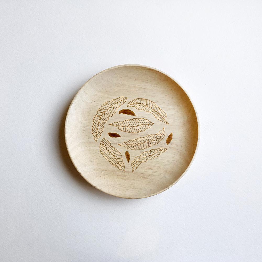 FERN ONLY 蕨盛木盤-小款-臺灣原始觀音座蓮