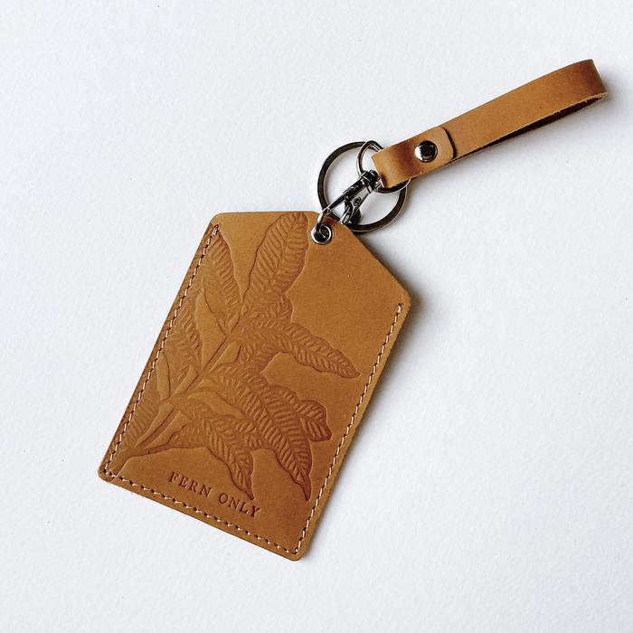 (複製)FERN ONLY|蕨簡真皮卡套-筆筒樹