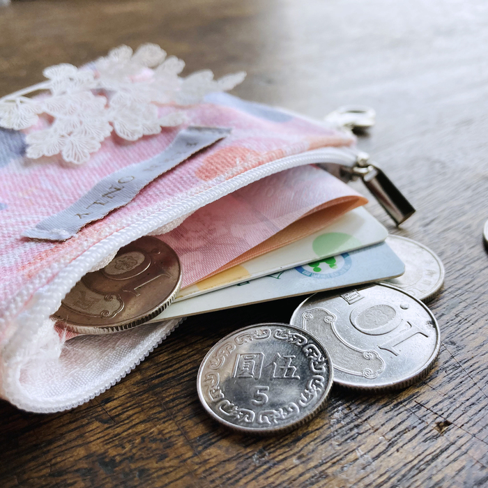 FERN ONLY 蕨對滿滿零錢包-鐵線蕨