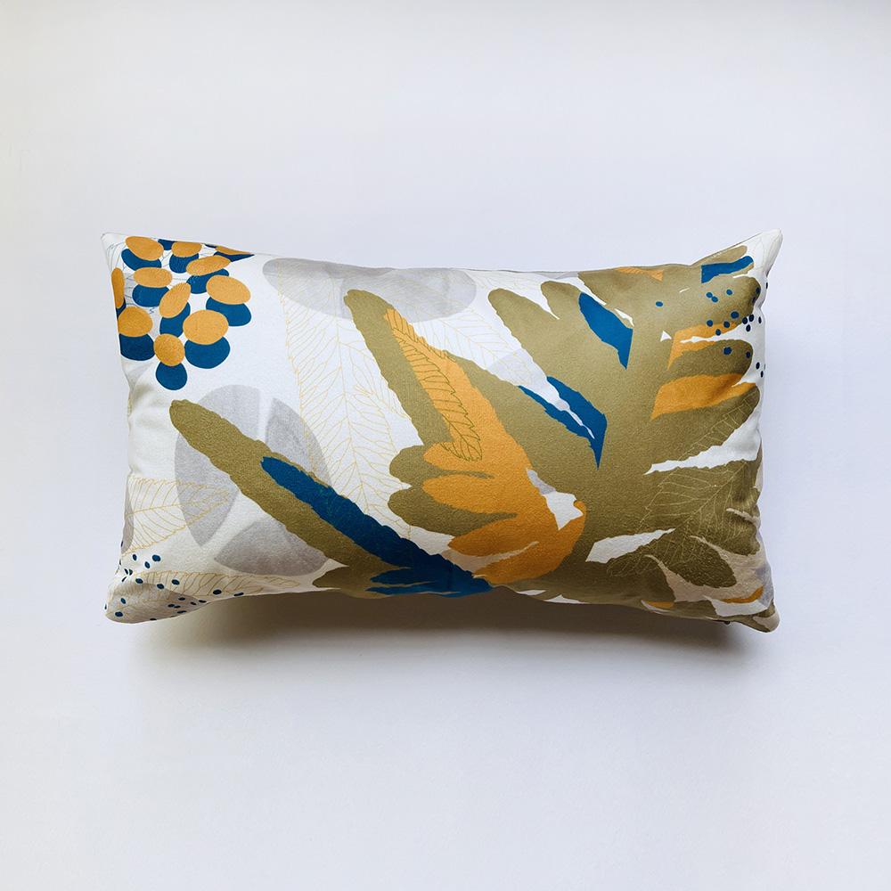 FERN ONLY|蕨美長形抱枕-半邊羽裂鳳尾蕨