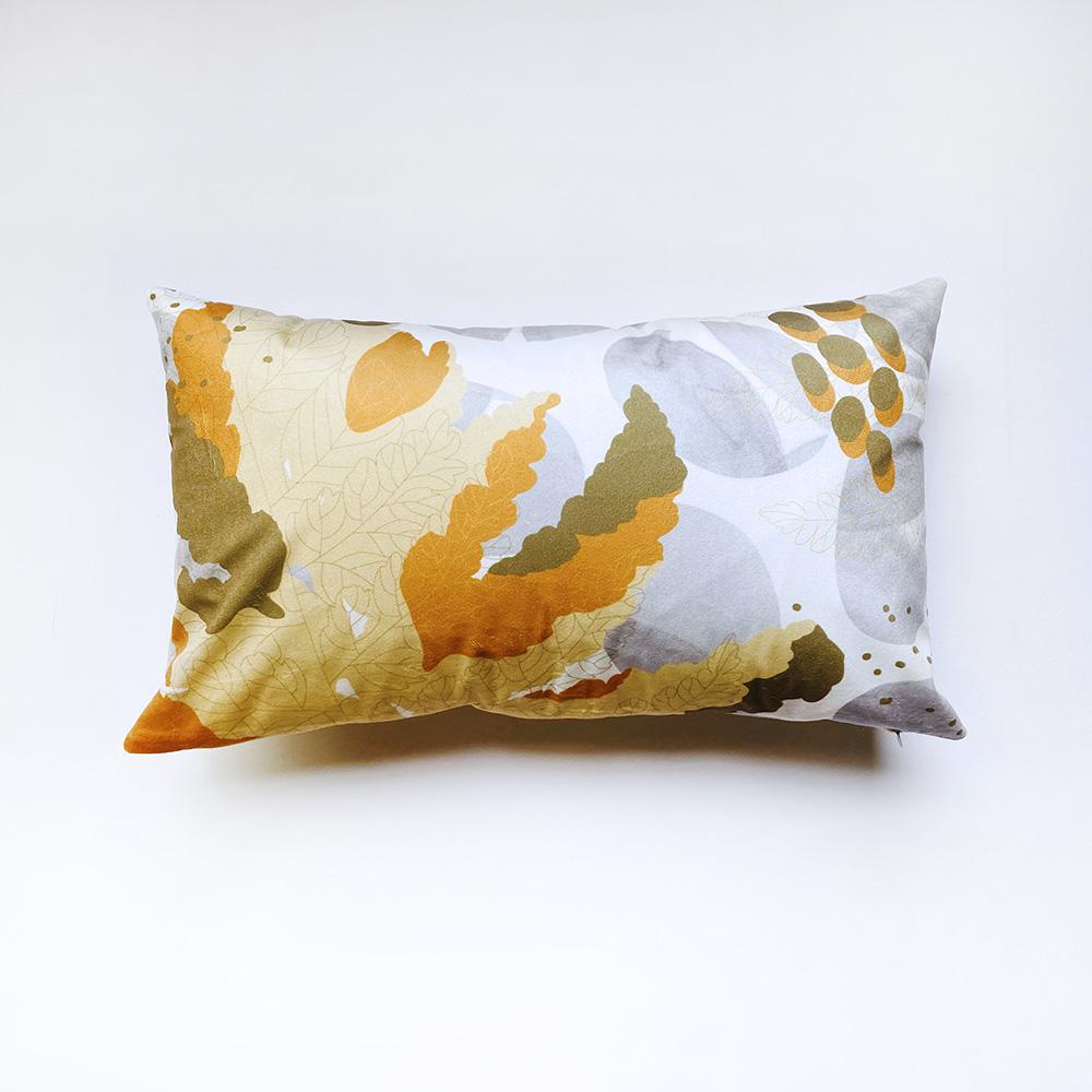 FERN ONLY|蕨美長形抱枕-過溝菜蕨