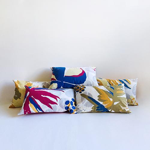 FERN ONLY|蕨美長形抱枕-雙扇蕨