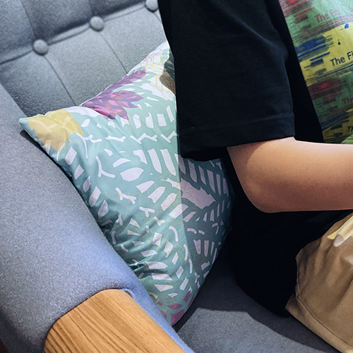 FERN ONLY|蕨美長形抱枕套2.0-生根卷柏