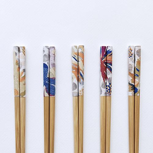 FERN ONLY 蕨美食光竹筷-2雙入-田字草