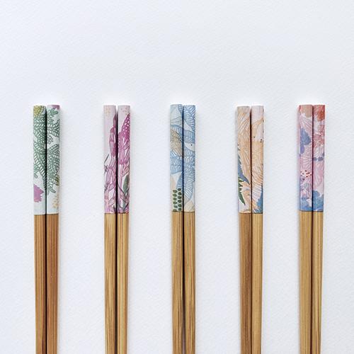 FERN ONLY 蕨美食光竹筷/系列1-5雙入