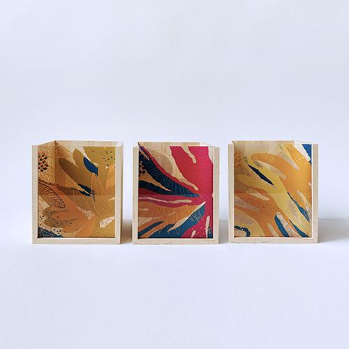 FERN ONLY|蕨美透印收納盒-雙扇蕨