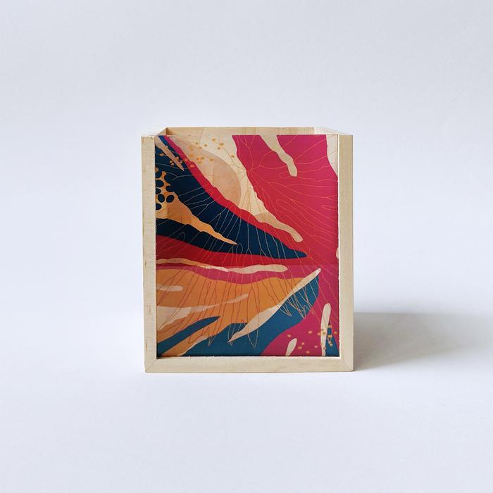 (複製)FERN ONLY|蕨美透印收納盒-半邊羽裂鳳尾蕨