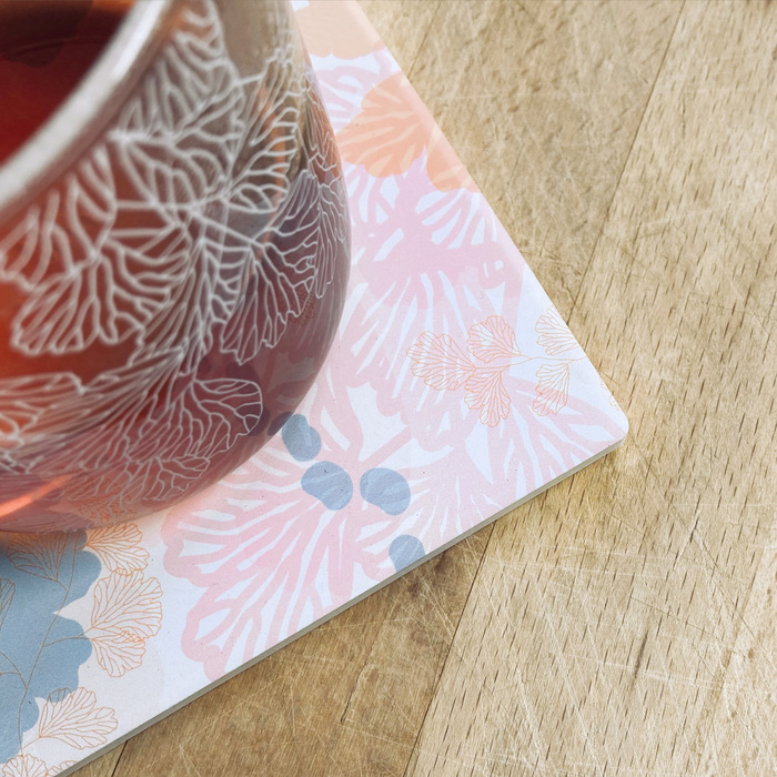 (複製)FERN ONLY|蕨色陶瓷杯墊-臺灣原始觀音座蓮